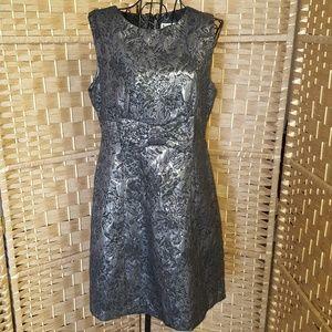 BB Dakota brocade dress